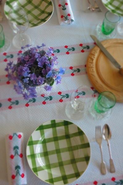 décoration de table  d'été