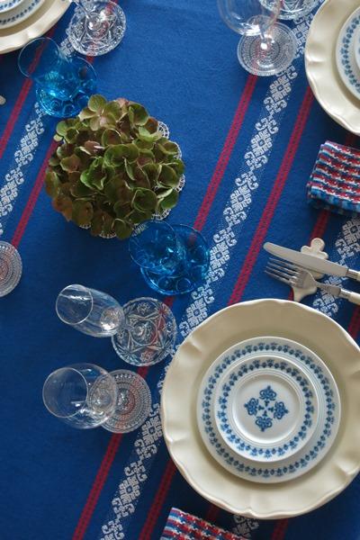 décoration de table d'été'