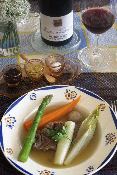 Cocotte de boeuf aux légumes de saison 牛すね肉と季節の野菜のココット