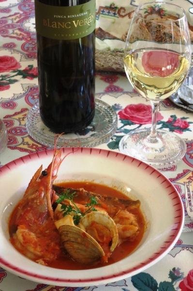 zarzuela de pescado y marisco サルスエラ